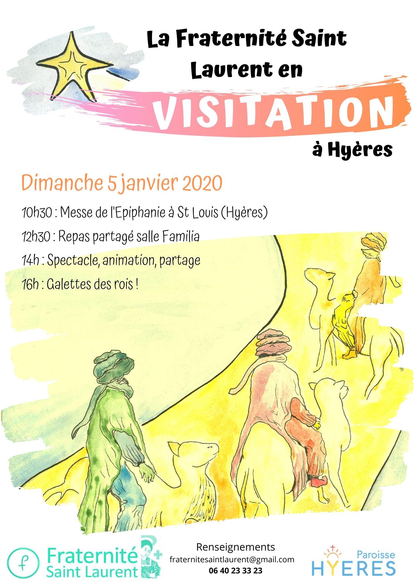 Visitation à Hyères