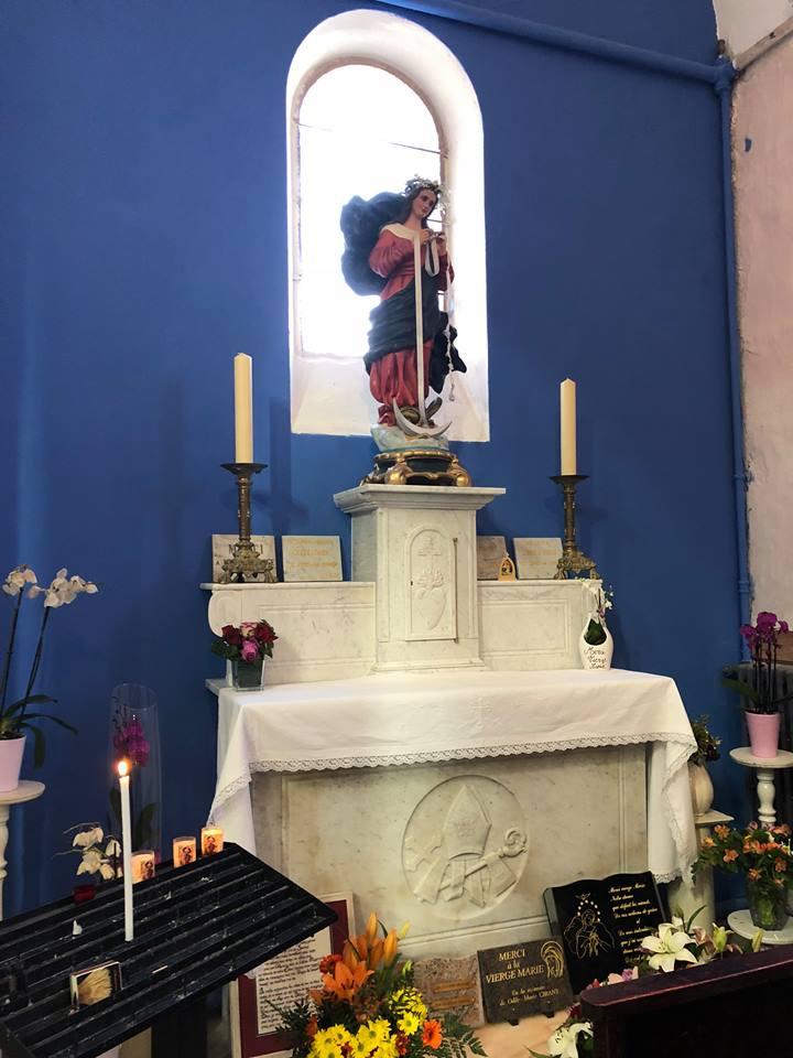 Messe De Marie Qui Défait Les Noeuds Paroisse De Limmaculée