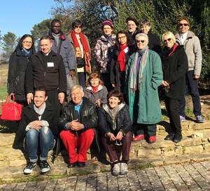 Le groupe Provence de la Communion Notre-Dame de l'Alliance des 23 et 24 janvier 2016