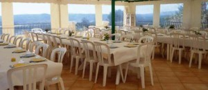 La Salle à Manger du Foyer de la Sainte Famille à Cotignac