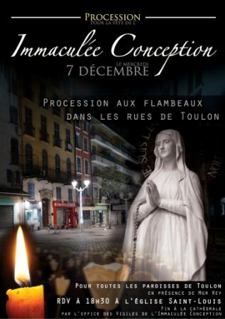 procession de l'immaculee-conception-2016-procession