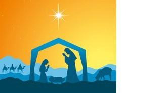 Tract d'invitation à la Messe de Noël (2015)
