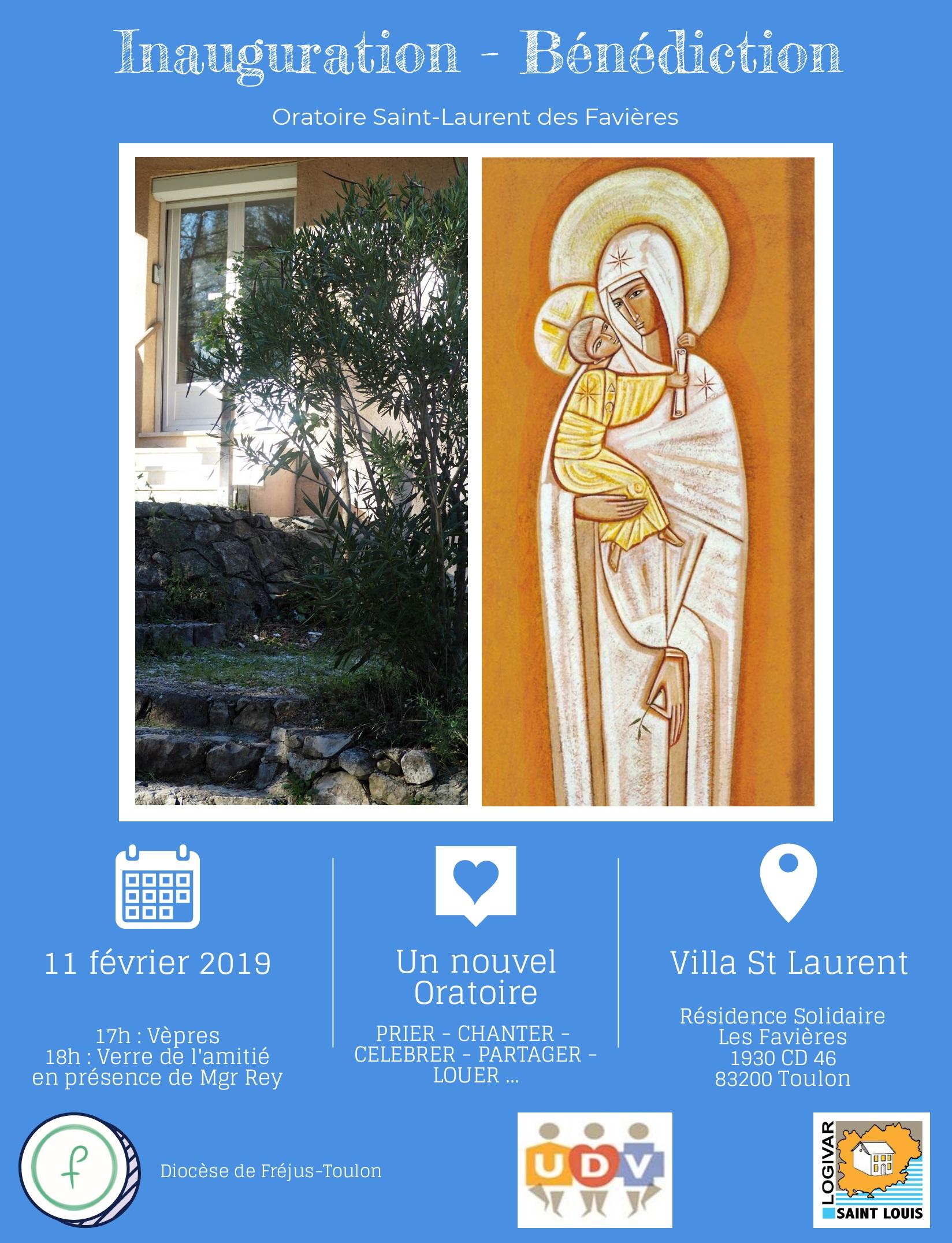 Affiche Inauguration Oratoire v3